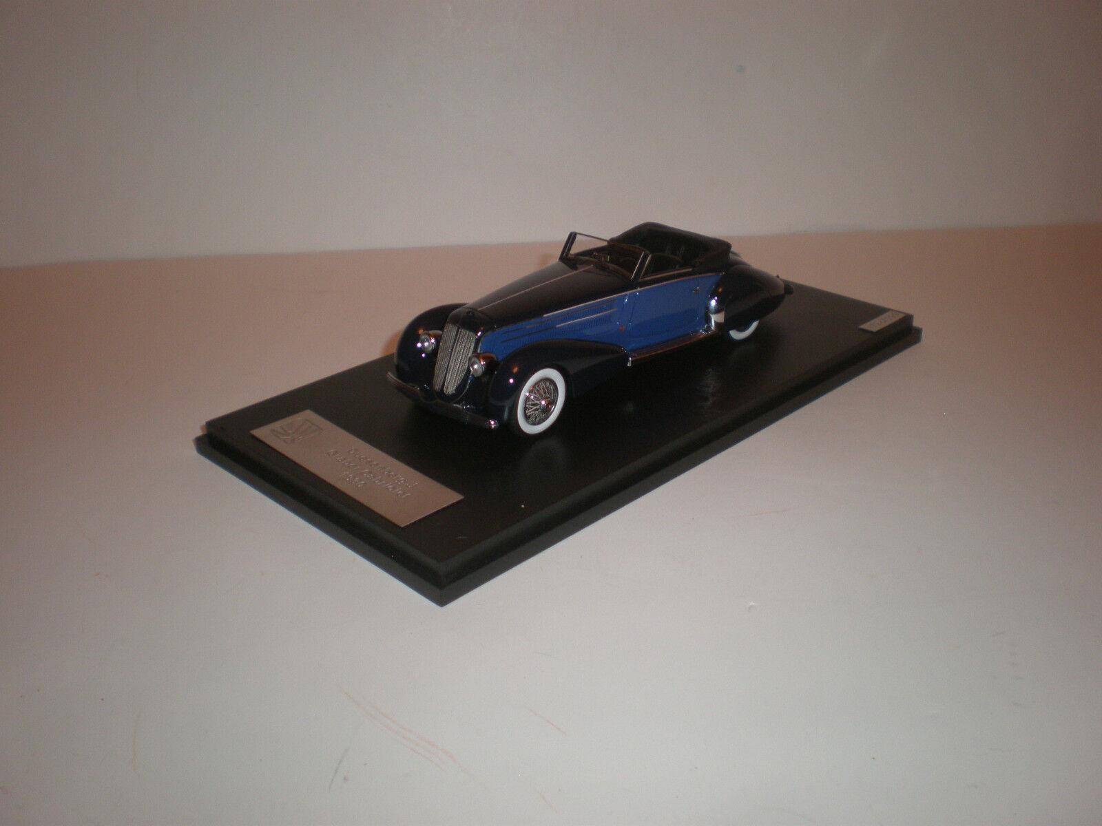 1  43 1930 Duesenberg J Graber Cabriolet blå   GLM
