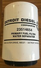 detroit diesel primary fuel filter water separator 23514654