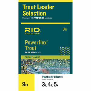 RIO-Powerflex-Trout-Selection-Leaders-3-Pack