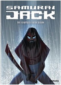 Samurai-Jack-Season-5-New-DVD-2-Pack-Ac-3-Dolby-Digital-Dolby-Slipsleeve