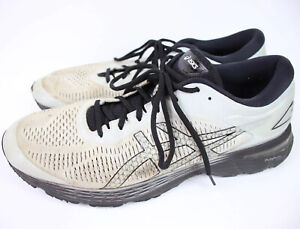 NEW ASICS Gel Kayano 25 Size 15 Men's Running Shoe Glacier GreyBlack
