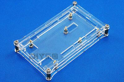 Clear Acrylic Box Enclosure Gloss Transparent Case box for Arduino Mega 2560 R3