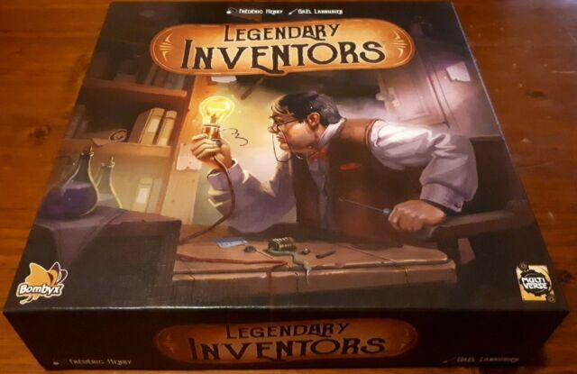 Legendary Inventors - Card / Board Game - As New and Unplayed