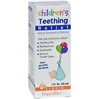Natrabio - Children's Teething Relief, 1 Fl Oz