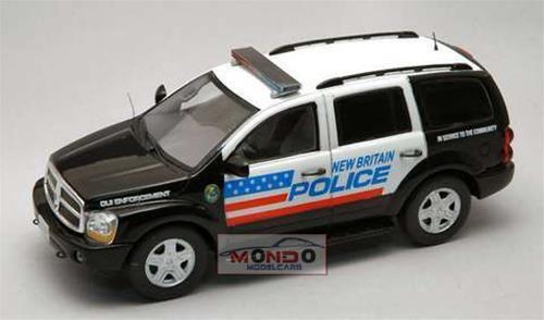 DODGE DURANGO BRITAIN POLICE 2005 1 43 Spark SP0864