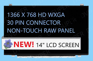 """New Lenovo 00NY408 FHD IPS LCD Screen LED for Laptop 14.0/""""  Display Matte"""