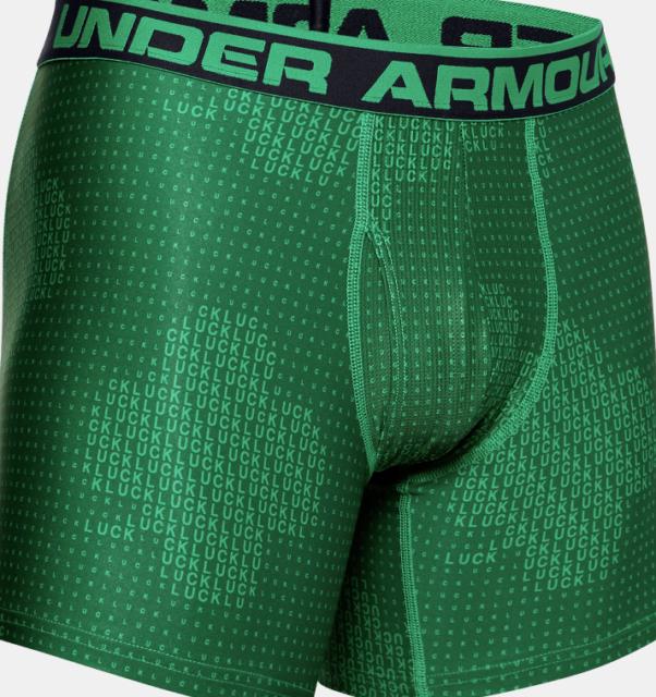 "UNDER ARMOUR UA 6/"" MENS BOXERJOCK BOXER BRIEF 2-PACK 2XL XXL 1282508 MSRP $35"