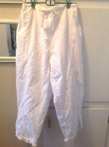 taglia corti in cotone bianco ricamati pantaloni taglia m donna 8 Pantaloncini corti da vqwTdv