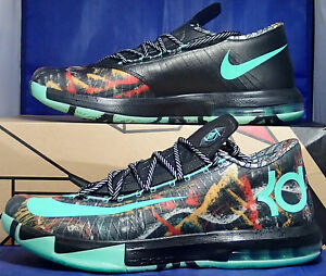 Nike KD VI 6 All-Star Gumbo League Illusion NOLA Durant SZ 11.5 ( 647781-930 )