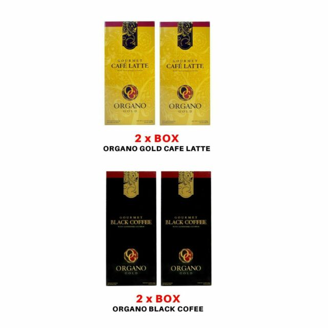 Bundle Organo Gold Cafe Latte 2 Boxes And Organo Gold