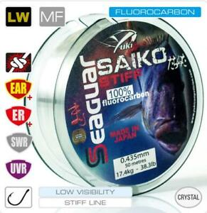 SEAGUAR-SAIKO-STIFF-100-FLUOROCARBON-MADE-IN-JAPAN-fluoro-peche-50M