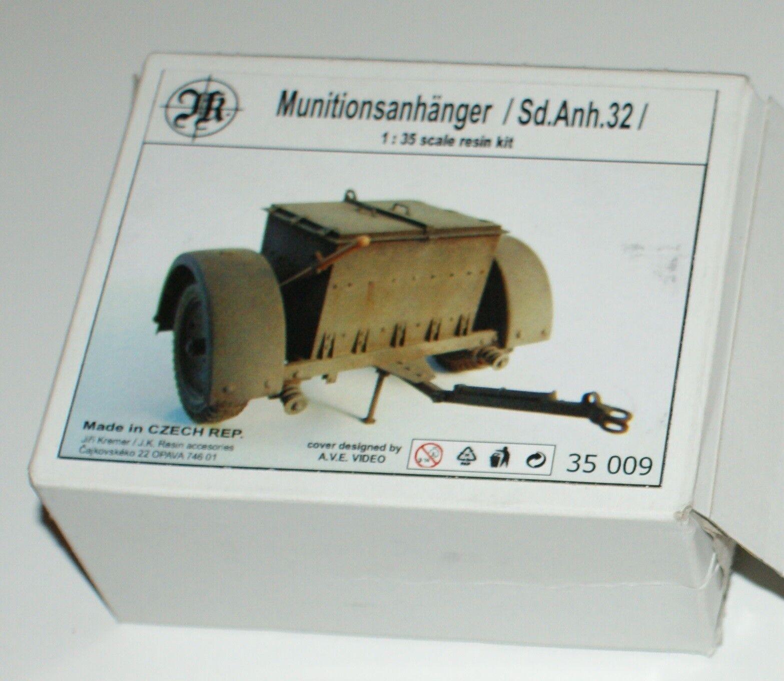 Munitionsanhänger (Sd. Anh. 32) von JKR in 1 35