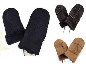 Lammfell Handschuhe Fausthandschuh<wbr/>e Fäustel Fäustlinge für Baby und Kleinkinder