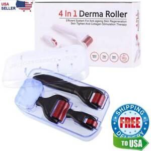 4-en-1-0-5-1-0-1-5-mm-rodillo-de-Derma-Micro-Aguja-Microneedle-Terapia-Piel-cicatriz-Kit