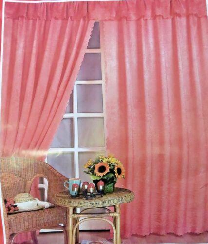 2er set visillos cortina 250x150cm listo cosidos tupido verdunklungsgardine