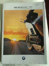 BMW Motorcycle range brochure 1991 USA market