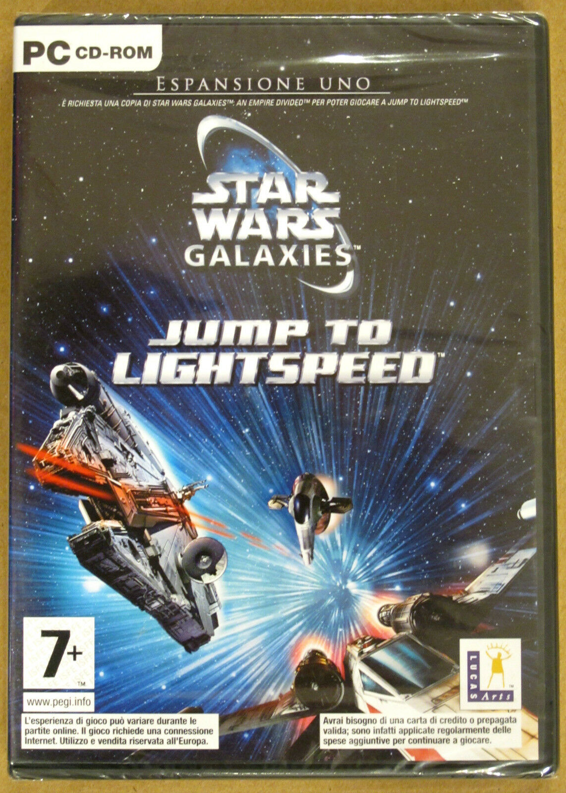 Videogame - Star Wars Galaxies - Jump to - Occasion StarWars