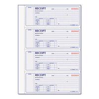 Rediform Receipt Book 2 3/4 X 7 Carbonless Duplicate 400 Sets/book 8l816 on sale