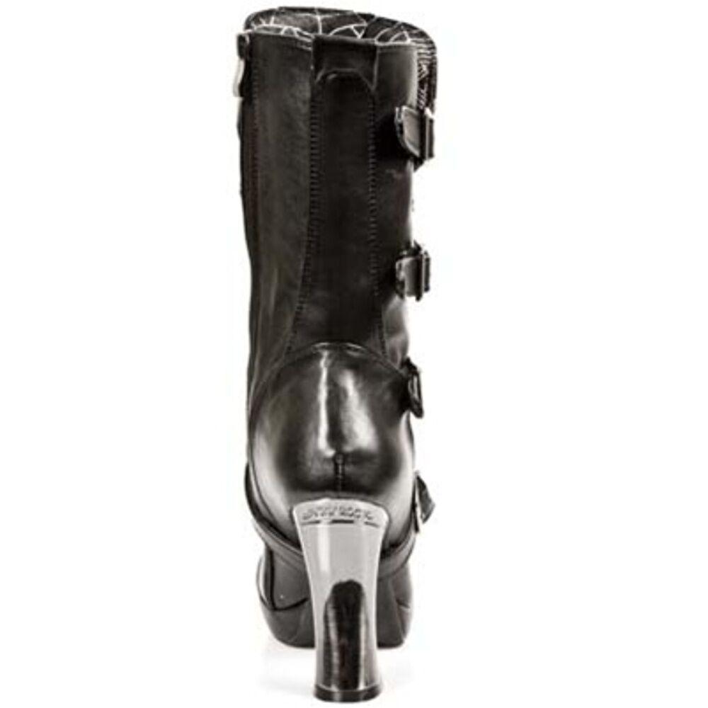 New Rock Boots women Punk Punk Punk Gothic Bottes - Style 5815 S10 black 9e045a