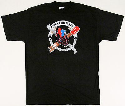 Concert Band T Shirt XL Slipknot Black Heart Metal Punk Rock