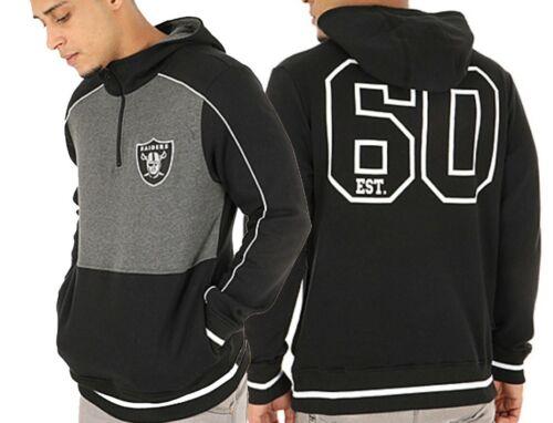 NFL Oakland Raiders Zip Hoodie Mens S M L XL Official Apparel Hooded Top