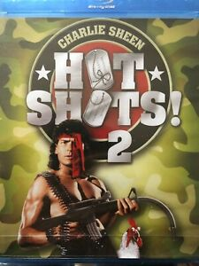 BLU-RAY-HOT-SHOTS-2-NEUF-SOUS-BLISTER
