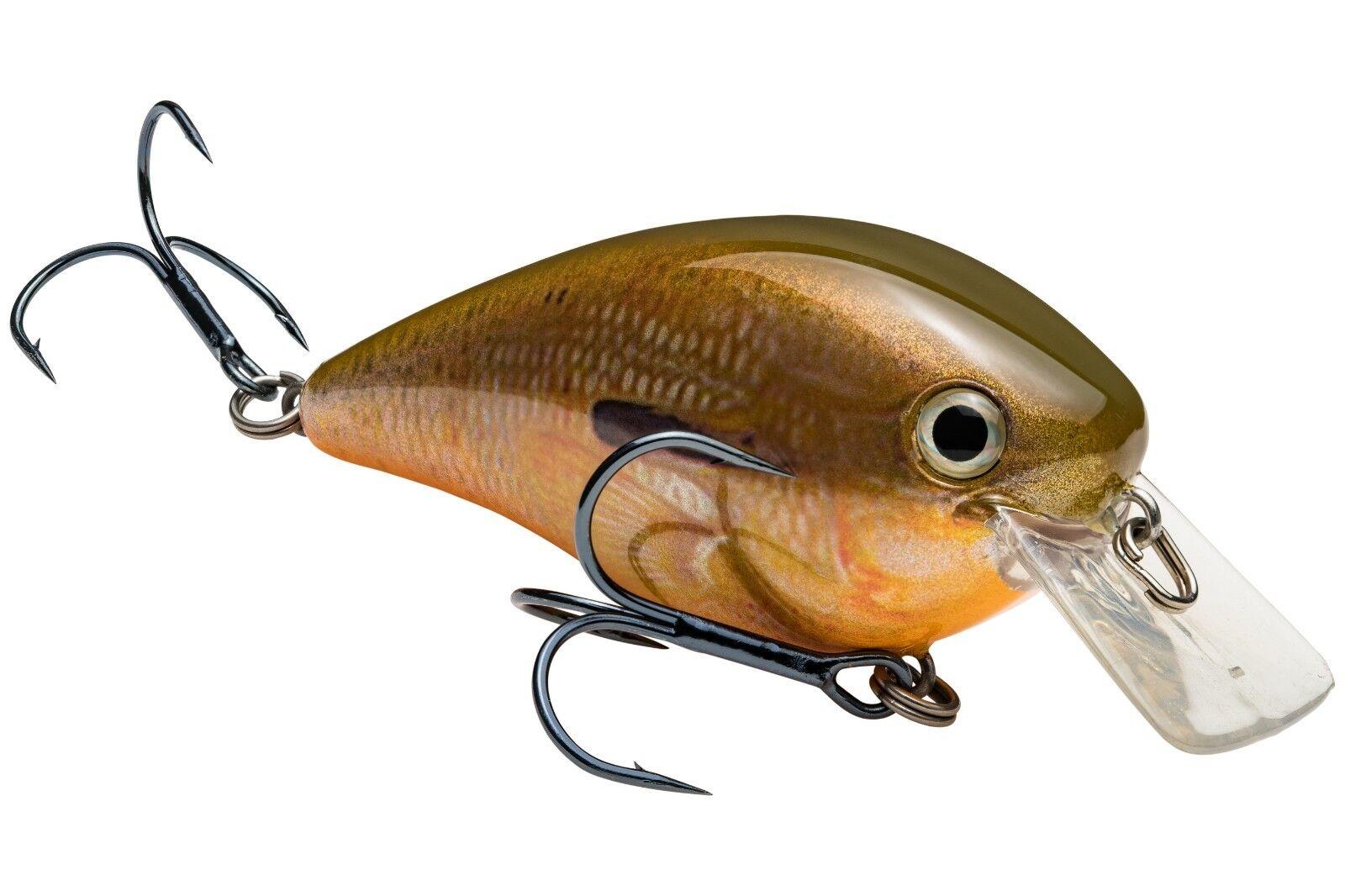 """Strike King Lures HCKVDS2.5-697 Kvd Square Bill 2.5/"""" Orange Bream Fishing Lure"""