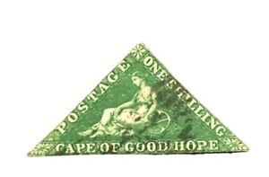 British-Cape-Of-Good-Hope-Stamp-6a-Used-CV-600-H-Low-Price