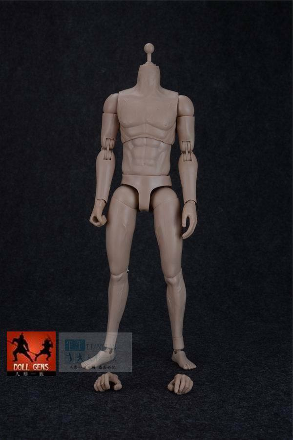 ASMUS TOYS 1 6 Scale 12  Strong Male Nude Body Men Figure Tall Free Hand Gift