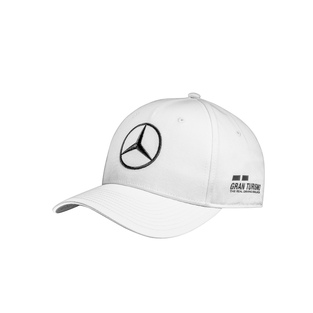 Mercedes Benz Kinder - Cap Hamilton Weiss 2018  | Kostengünstiger