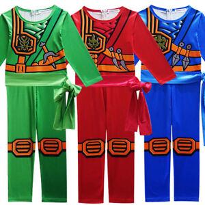 Ninjago Halloween Costume.Kids Ninjago Cosplay Costume Clothes Sets Children Halloween Costume
