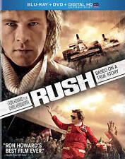 Rush (Blu-ray/DVD, 2014, 2-Disc Set)