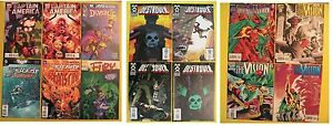 14-COMICS-LOT-Captain-America-The-Demon-Fury-Destroyer-Vision-Frankenstein-SHADE