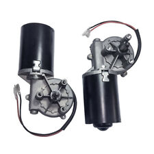 Dc 12v 24v Electric Leftright Angle Reversible Gear Motor 50rpm For Garage Door
