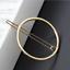 NEW Beautiful Gold or Silver Tone Geometric Hair Clip UK Seller 7 Designs