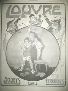 Advertising-Press-to-Louvre-Stores-Toys-New-Year-039-s-Gifts-Artwork-Roowy-ad-1917
