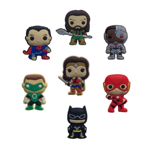 50PCS Justice League Shoe Charms Shoes Accessories  fit in Shoes Kids Gifts