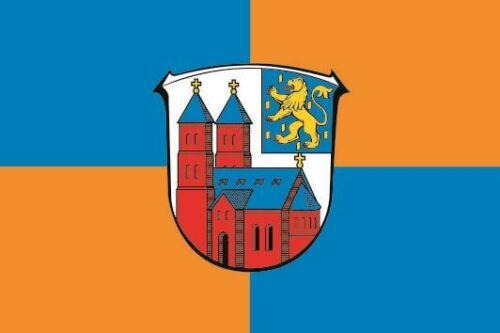 Aufkleber Weilmünster Flagge Fahne 8 x 5 cm Autoaufkleber
