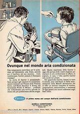 Pubblicità Advertising 1964 Aria condizionata CARRIER