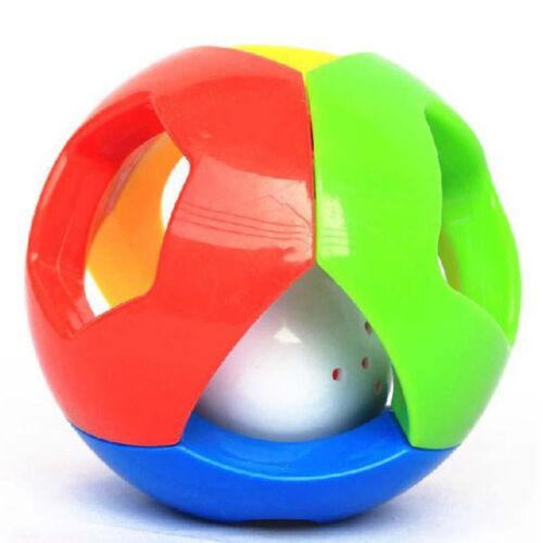 HOT Cute Handbells Musical Developmental Toy Bed Bells Kids Baby Toys Rattle SPD