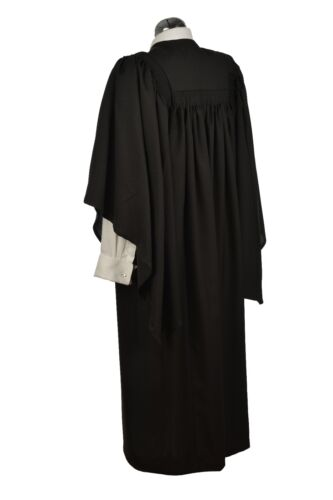 Bachelors Graduation Gown University Fully Fluted Masters Academic Robe BA MA