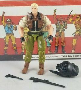 Original-2004-GI-JOE-DUKE-V17-ARAH-Complete-UNBROKEN-figure-Valor-Venom