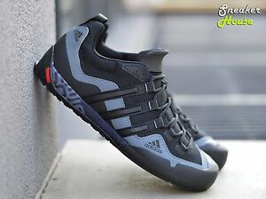 separation shoes d8f42 8f273 Image is loading Adidas-Terrex-Swift-Solo-D67031-Hiking-Trail-Shoes