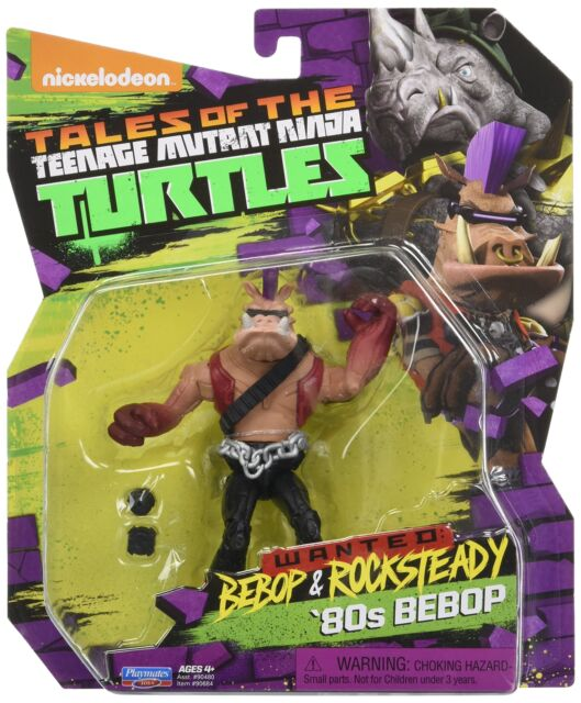 Nickelodeon Teenage Mutant Ninja Turtles Bebop in 80s Outfit Action Figure