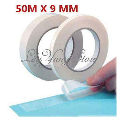 Double Sided Super Strong Adhesive Tape Sticker Glue Rolls 9mm X 50m Wholesale