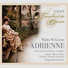 WALTER A. GOETZE Adrienne 2CD TRAUMLAND DER OPERETTE Frank Marszalek  LORENZ