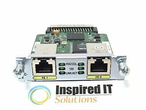 HWIC-2FE-Cisco-2-Port-Fast-Ethernet-High-Speed-WAN-Interface-Card-Fast-Ship