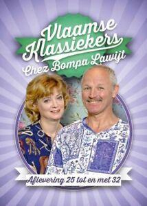 DVD VLAAMSE KLASSIEKERS - CHEZ BOMPA LAWIJT  AFLEVERING 25-32  (NIEUW SEALED)