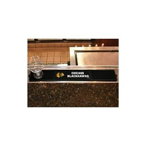 "FanMats NHL - Chicago Blackhawks Drink Mat 3.25""x24"", 14061"