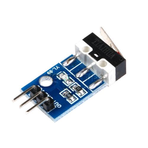 2PCS YL-99 Collision Switch Sensor Module for Arduino Robot Car Raspberry pi